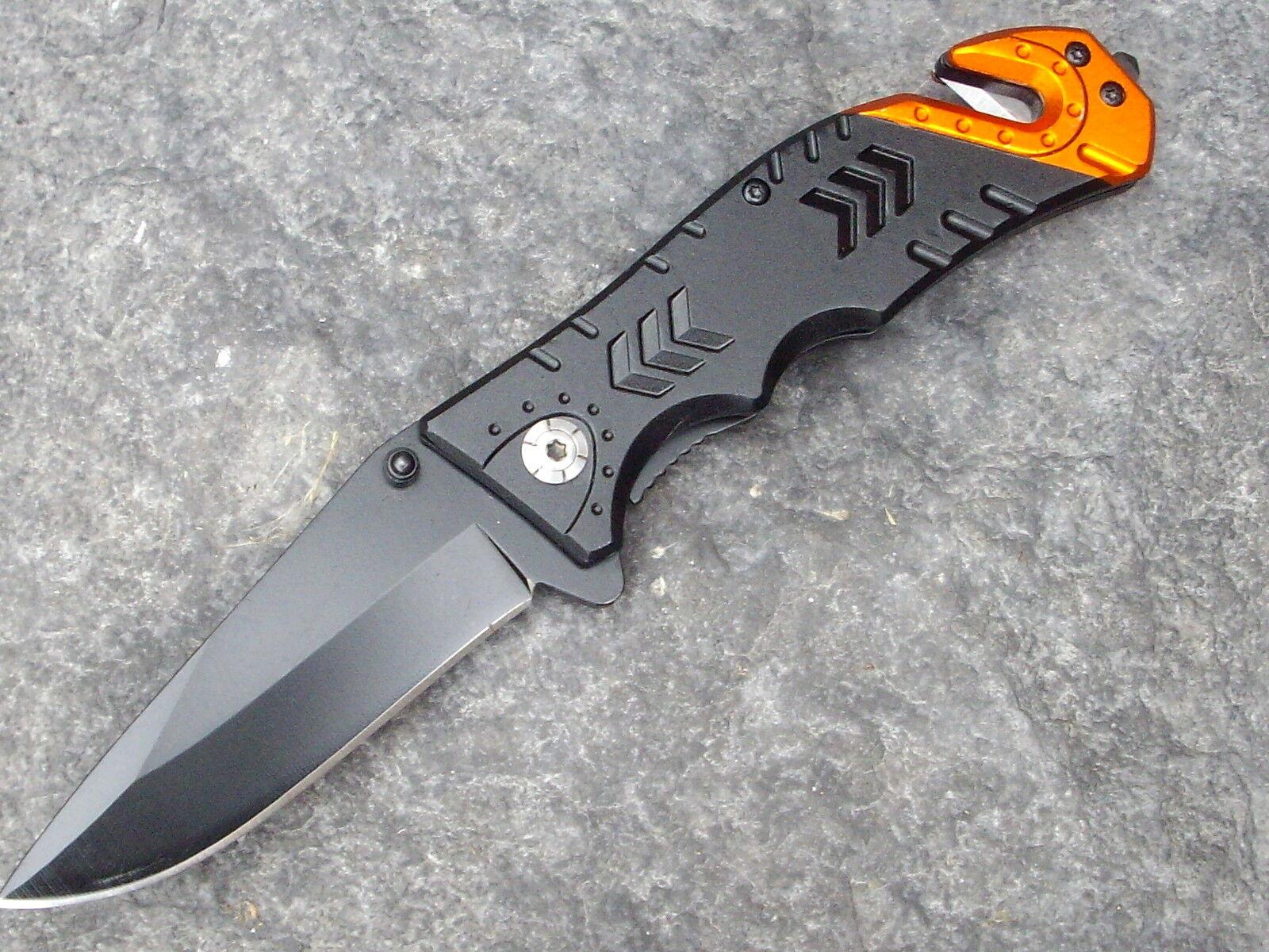 Urgence couteau sauvetage Couteau Couteau Couteau Couteau de poche avec gurtschneider & glasbrecher NOUVEAU! b9b393