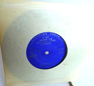 AL-GILBERT-TAP-DANCING-Grade-1-2-Teddy-Bear-USA-Military-Song-and-Dance-45-RPM