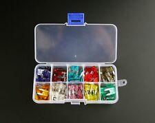 120PCS VAUXHALL CAR/VAN AUTO ASORTED MINI BLADE FUSES BOX *5 10 15 20 25 30 AMP*