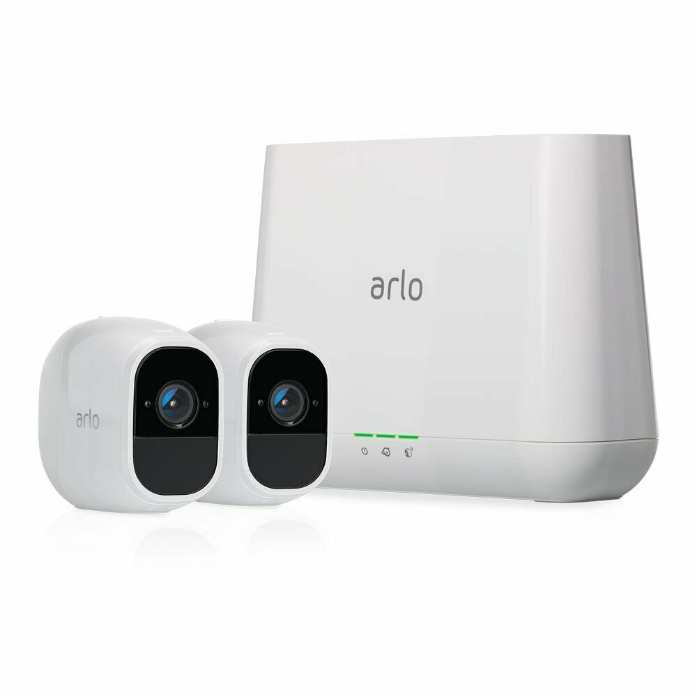 Arlo VMS4230P-100NAR Pro2 2 HD Cameras Security System - Certified Refurbished. Buy it now for 166.99