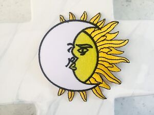 Hippie-Astrology-Sun-Moon-Night-Sign-Rock-Party-Iron-On-Patches-Patch