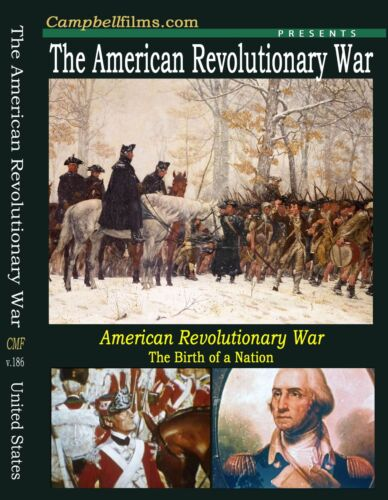 American Revolutionary War films from the begining to the end -Free Shipping too