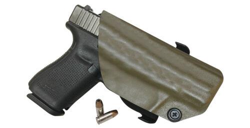 Holster OWB Belt Paddle KYDEX Outside Waistband S/&W Bodyguard .38 Revolver laser