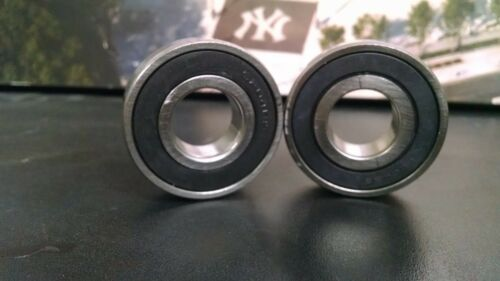 (Qty 2) 6006-2RS Premium Electric Motor Quality  Ball Bearing 30x55x13mm