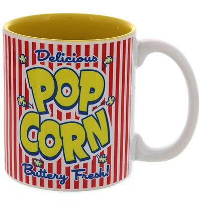 Popcorn Ceramic Buttery Fresh Diner Coffee Mug 10 oz.