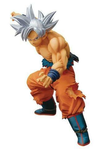 Banpresto Dragon Ball Super Goku Ultra Instinct Figure MAXIMATIC THE SON GOKOU ?