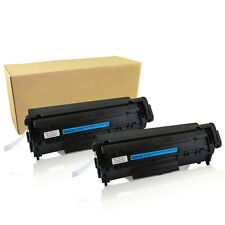 2PK Q2612A Toner Cartridge For HP 12A LaserJet 1012 1010 1018 1020 3030 3020