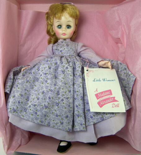 "Madame Alexander 1323 MEG DOLL 12"" in Box + Tag 1983 Little Women"