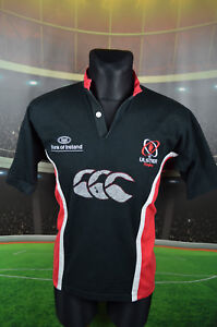 Ulster Canterbury Rugby Union Shirt (M) haut en jersey trikot maglia Homme Vintage Polo