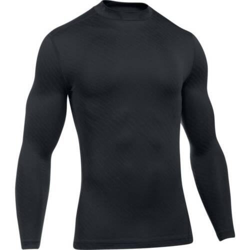Under Armour UA Men/'s Jacquard Compression Mock Baselayer Shirt New
