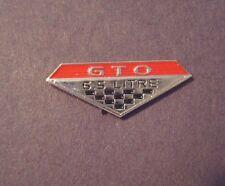 Vintage   PONTIAC GTO  Hat Pin Lapel  Pin
