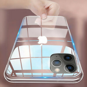 CLEAR-Case-For-iPhone-11-Pro-Max-XR-X-XS-Max-7-8-Plus-Cover-Silicone-Shockproof