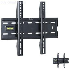 Ultra Slim TV Wall Mount 15 To 42in LCD LED Plasma Flat Screen Base Stand Holder
