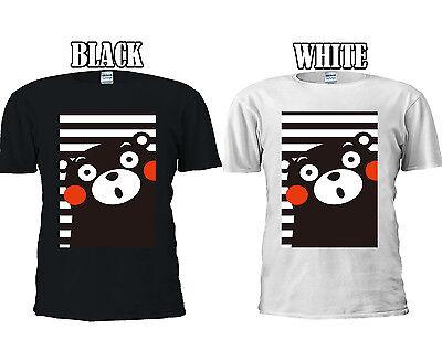 Aspirante Giapponese Anime Kumamon Bear Animal Divertente T-shirt Canotta Canottiera Uomini Donne Unisex 403- I Clienti Prima Di Tutto
