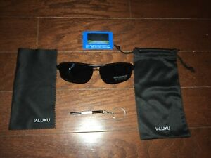 ea6855f222 Image is loading Rectangular-Polarized-Sunglasses-for-Men-Square-Retro- Sunglasses