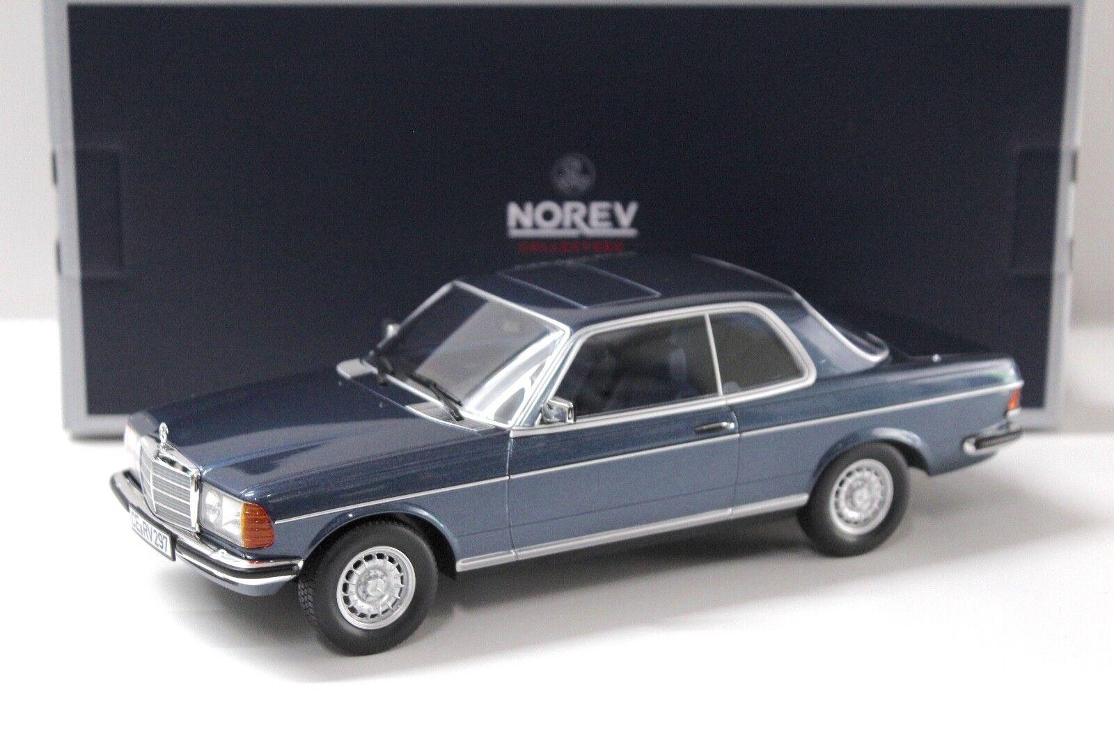 1 18 NOREV MERCEDES 280 280 280 CE Coupe 1980 blu NEW in Premium-MODELCARS dfc8f8