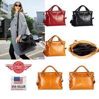 Women Leather Handbag Ladies Purse Shoulder Messenger Crossbody Tote Bag T28