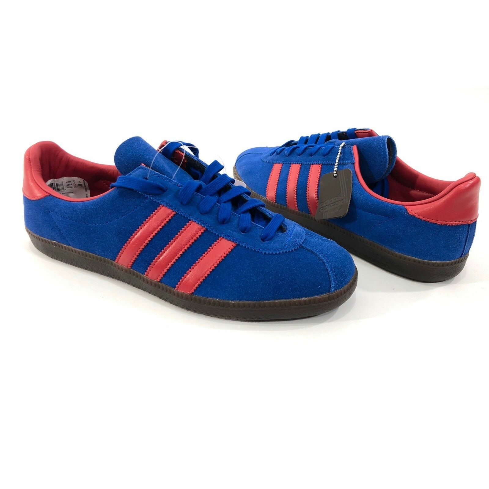 Adidas Spritus Spezial SPZL Men's Sz 10.5 Royal bluee   Red Running shoes CG2922