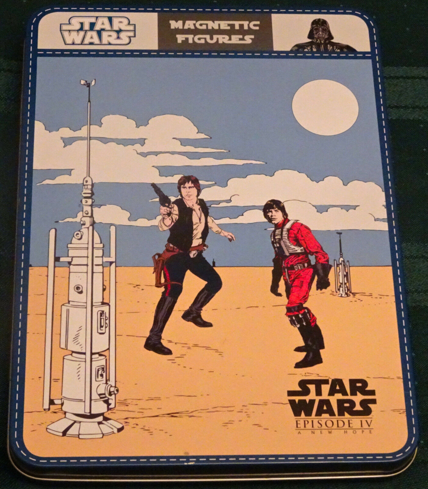 Star Wars  A New Hope Magnetic Figures Scene Game by Pottery Barn Kids - RARE