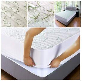 Mattress Cover Deep Pocket Soft Bedding Protector Queen