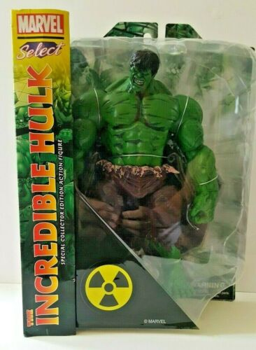 L/'INCROYABLE HULK diamond Marvel sélectionner une action figure new in package RARE