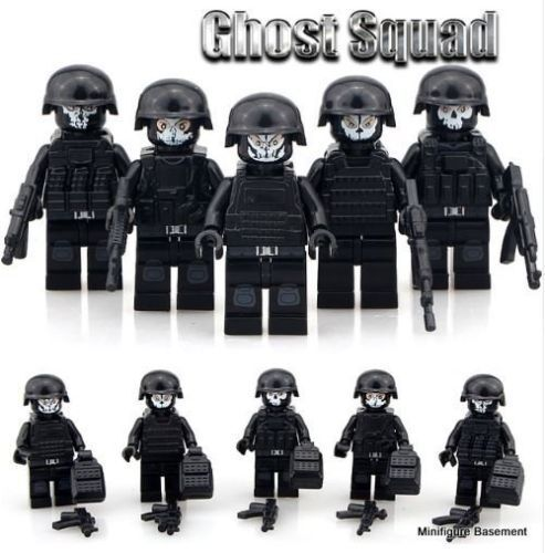 Call Of Duty Ghosts Black Ops Soldats Ps4 Xbox Mini Figures Lego Taille Guerre Mondiale
