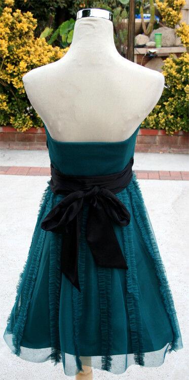 NWT MAX and CLEO CLEO CLEO  168 Dark Jade Prom Homecoming Dress 2 33d2a6