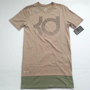 Nike-Men-Kevin-Durant-KD-Dry-Pearl-Shirt-894909-Khaki-235-Size-XL-NWT