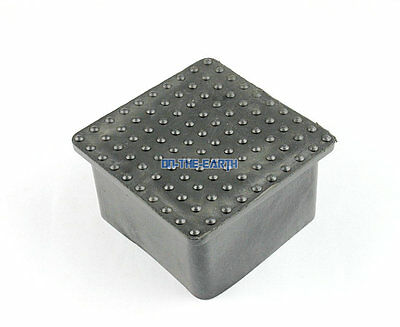 8 Pcs 30 x 60mm Rectangle Rubber Furniture Chair Table Feet Leg Cover Protector