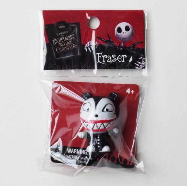 Scary Teddy Figural Eraser for sale online Nightmare Before Christmas