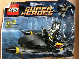 Lego Polybag Dc Super Heroes Batman With Jet Ski Set 30160 Ebay