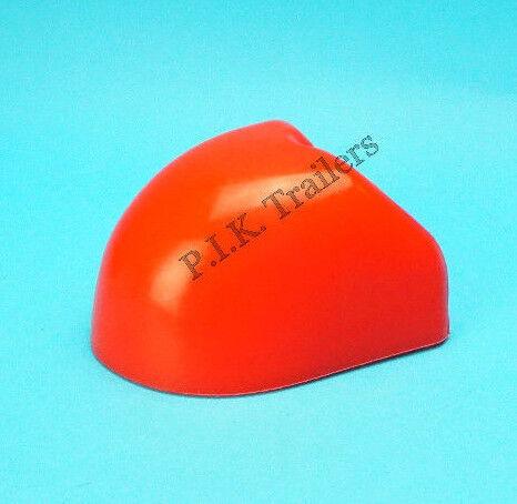 Rojo Goma Suave dock Protector para enganche de acoplamiento de acero prensado