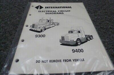 1989 International 9100 9200 9300 9400 9900 Electrical ...