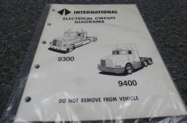 1989 International 9100 9200 9300 9400 9900 Electrical