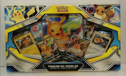 Pokemon Pikachu-GX /& Eevee-GX Special Collection