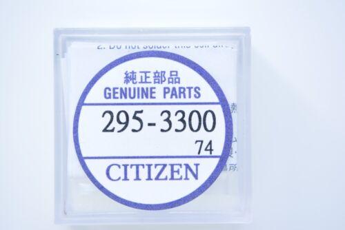 Citizen Eco Drive MT621 Knopfzellen 295-33 Fahne akku Solar rechargeable 0850A