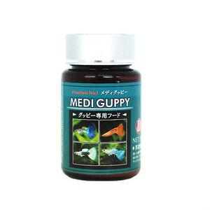 Medi guppy food tropical fish food feeding platy molly for Guppy fish food