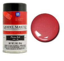 Testors Model Master Flame Red Lacquer Paint 3oz. Spray tes28110