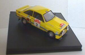 TROFEU-2502-FORD-ESCORT-RS1800-model-rally-car-Tarmac-Timo-Makinen-Liddon-1-43