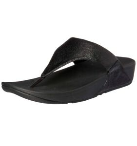 Lulu 6 Thong Taglia Black New Fitflop Uk Molten Metal PqHxAHZ