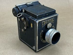 Pilot-6-Kamera-Werkstatten-w-7-5cm-F-6-3-K-W-Anastigmat-Vintage-Camera