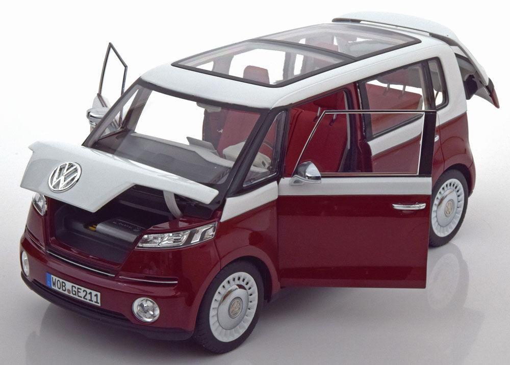 Norev 2011 Volkswagen VW Bulli Concept Car rojo (Dealer Ed) 1 18BRAND NEWRARE