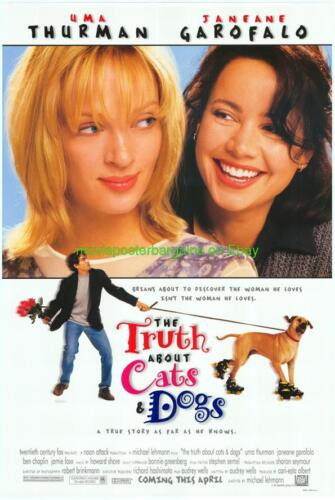 TRUTH ABOUT CATS AND DOGS /& BE COOL MOVIE POSTER