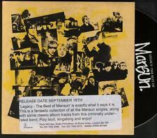 MANSUN Legacy PROMO CD ALBUM  in stickered cardboard sleeve BEST OF