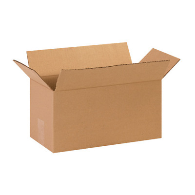 25 14x7x7 Cardboard Shipping Boxes Cartons Packing Moving Mailing Box