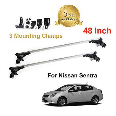 Car Roof Crossbar Bar Rack Metal Luggage Cargo For Nissan Sentra 2006-2017 New