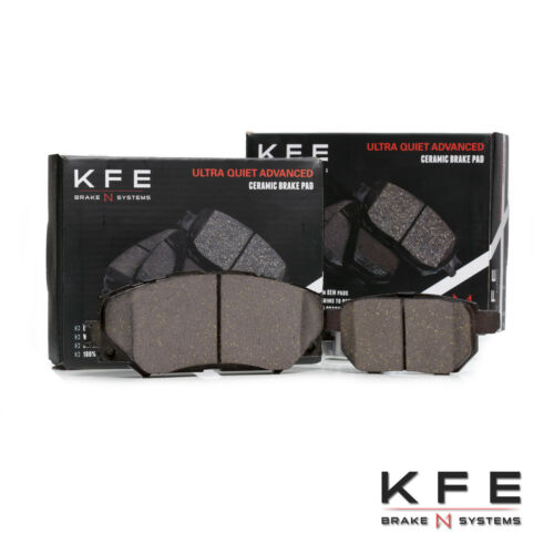 FRONT REAR Ceramic Premium Disc Brake Pad Fits xB Corolla Matrix KFE1210-1423