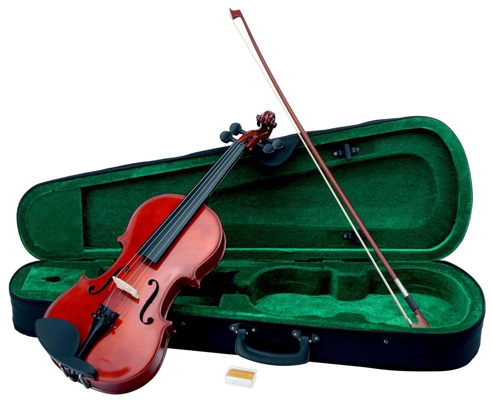 Violon instrument De Musique Orchestre 4 4 Größe Set Avec Coffre Arc Cordes