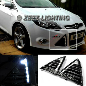direct fit high power 6 led daytime running light drl lamp kit fordimage is loading direct fit high power 6 led daytime running