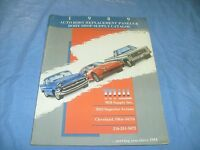 Vintage 1989 Mill Supply Panels Autobody Parts Catalog Replacements Ohio /f6